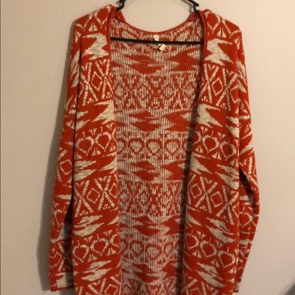POL Sweaters - POL | Tribal Cardigan